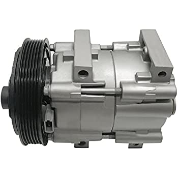 RYC Remanufactured AC Compressor and A/C Clutch EG163