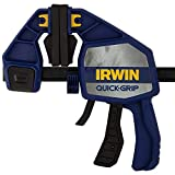 IRWIN QUICK-GRIP Bar Clamp, One-Handed, Heavy-Duty, 6-Inch