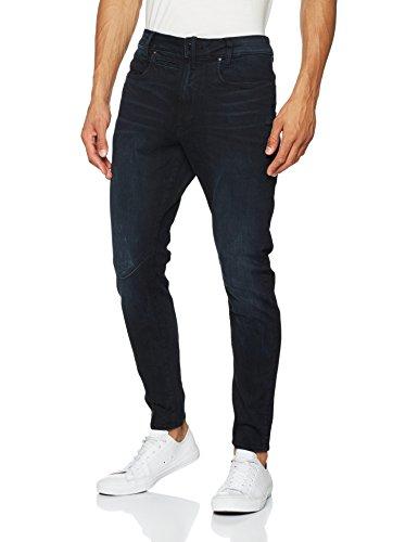 G Blue Aged Men's dark star Jeans Raw Skinny w6aU6x