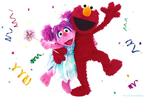 Sesame Street Elmo Abby Cadabby Streamers Confetti for sale  Delivered anywhere in USA