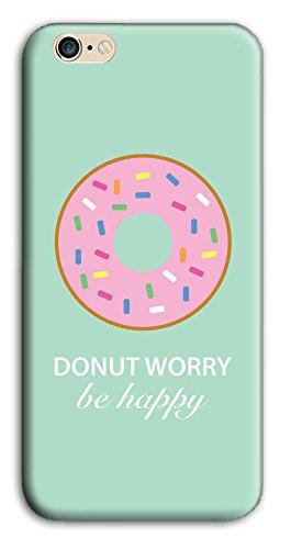 Mixroom - Cover Custodia Case In TPU Silicone Morbida Per Apple Iphone 7 Plus Y396 Donut Happy
