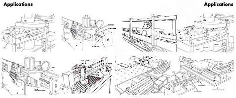 YIJIAN-UMBRELLA Linear Motion Produkte SMA20LUU Linear Gehäuseeinheit SMA 20LUU SMA20 LUU Linear Motion Bearing Slide Unit (2ST)