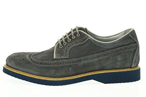 GIARDINI uomo Blu NERO 214 inglesine scarpe P704971U vTx6nOU6