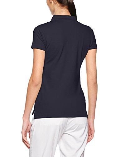 James & Nicholson Elastic Piqué, Polo para Mujer azul (navy)