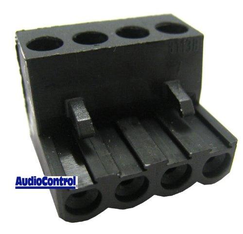 4-pin plug - AudioControl 4 Pin Plug fits Most Audio Control - Unit Control Audio