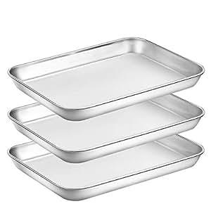 Amazon.com: Umite Chef - Bandeja para horno de acero ...