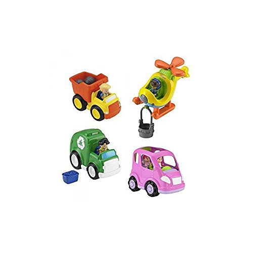 Fisher-Price Little People Mid-Sized Vehicle Assortment (Little People Dump Truck)