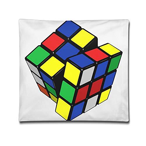 Phyllis Walker Pillow Shams Interesting Magic Cube Square Throw Pillow Case Cotton Decorative Pillowcase Cushion Cover Sofa Bedroom 18