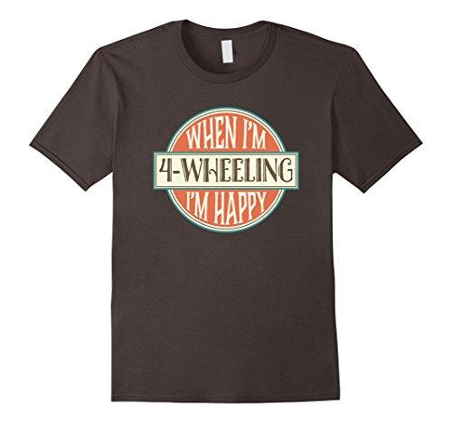 4-Wheeling-T-shirt-Vintage-Four-Wheeler-Off-Road-Gift-Tee