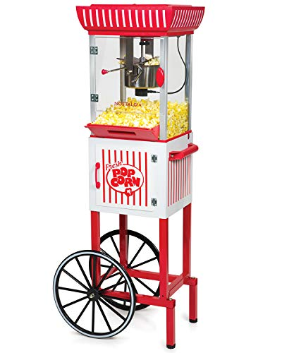 Nostalgia CCP399 2.5-Ounce Popcorn Cart - 48 Inches Tall ()
