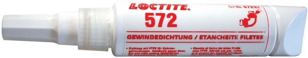 Gewindedichtmittel Flasche 50 ml 572 LOCTITE EDE WERKSTATTMATERIAL 5010266572321
