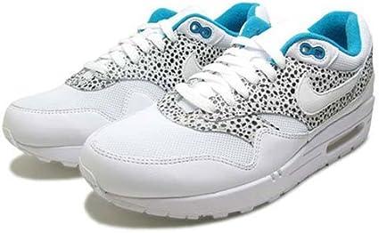 Nike WMNS AIR MAX 1 Trend Sneaker (319986 131) SELTEN weiß (weiß schwarz türkis)