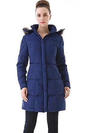 Amazon.com: Jessie G. Women&39s Water Resistant Down Parka Coat