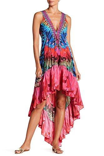 camilla print dress - 1