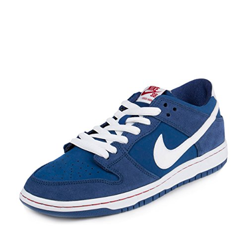 b384bc8d3c4a Galleon - Nike Mens Dunk Low Pro IW Deep Royal White-Gym Red Suede Size 11.5