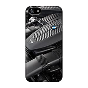 Durable Defender Cases For Iphone 5/5s Tpu Covers(bmw X5 Engine)