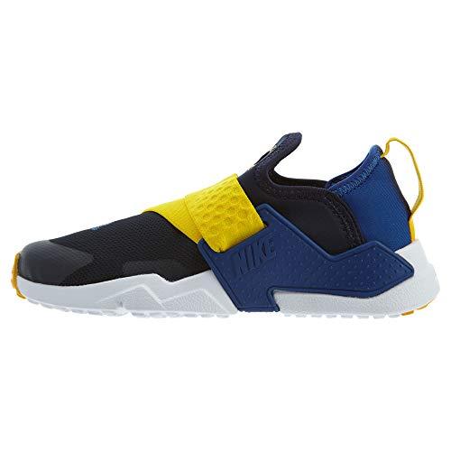 a3aa8dd3 Nike Boy's Huarache Extreme (PS) Pre-School Shoe Obsidian/Indigo Force- Amarillo-White, 3 M US Little Kid