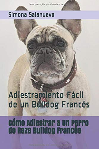 Cómo Adiestrar a Un Perro de Raza Bulldog Francés: Adiestramiento Fácil de un Bulldog Francés por Simona Salanueva