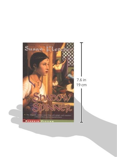 shadow spinner book report Before you watch this movie, you might want to read the book that it's based on: the shadow spinner when i first saw it, i was a little let down on how l continue reading.