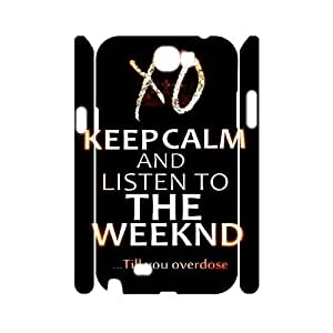 C-EUR The Weeknd XO Customized Hard 3D Case For Samsung Galaxy Note 2 N7100