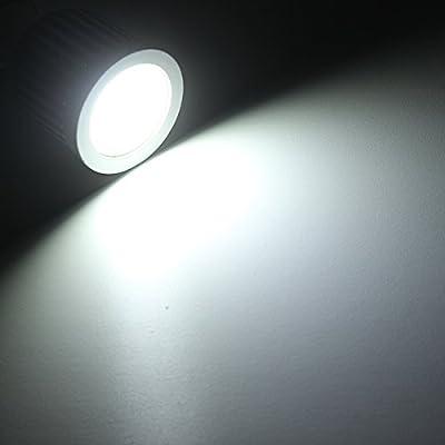 Nekteck Solar Lights Outdoor, 2-in-1 Solar Spotlights Powered 4 LED Adjustable Wall Light Landscape Lighting, Bright and Dark Sensing, Auto On/Off