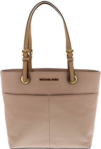 MICHAEL Michael Kors Bedford Large Top-Zip Pocket Tote, Soft Pink by Michael Kors