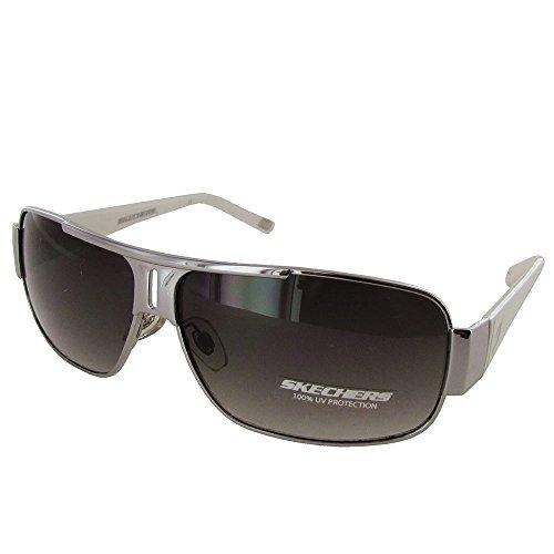 Skechers Mens SK 8004 Fashion Aviator Sunglasses, - Skechers Sunglasses