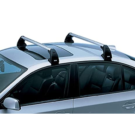 BMW 5 Series (E60 Sedan) Genuine Factory Profile Roof Rack Crossbars 2004    2009