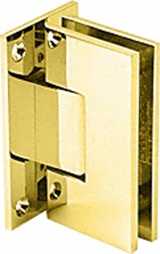 CRL Vienna 037 Series Brass Wall Mount Shower Door Hinge ()