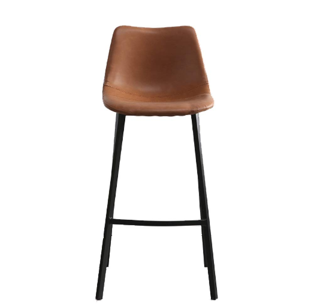 AO-stools Nordic Leisure High Stool Cafe Back Metal Bar Chair Home Restaurant Dining Chair 99x75x43cm by AO (Image #1)