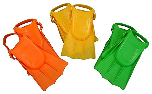 Mariposa CA Toddler Learn to Swim Baby Guppy Fins Kids Children Flippers Soft Adjustable Pool Beach 4 Colors