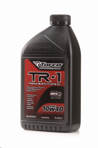 (Torco A141040C TR-1 10w40 Racing Oil Bottle - 1 Liter Bottle, (Case of 12))