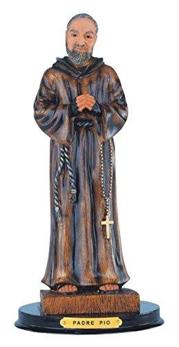 StealStreet SS-G-312.71 Padre Pio Holy Figurine Religious Decoration Statue Decor, 12