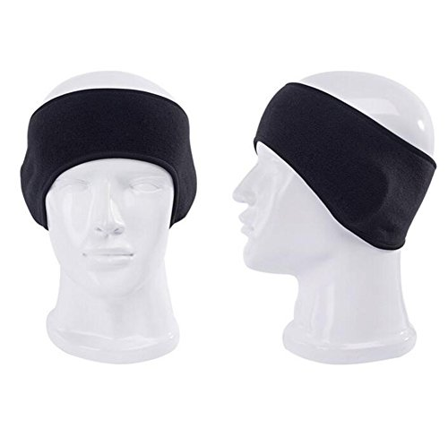 Unisex Fleece Winter Warm Headband Sports Outdoor Running Cy