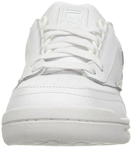 Fila Menns Opprinnelige Tennis Klassisk Sneaker Hvit / Hvit / Hvit