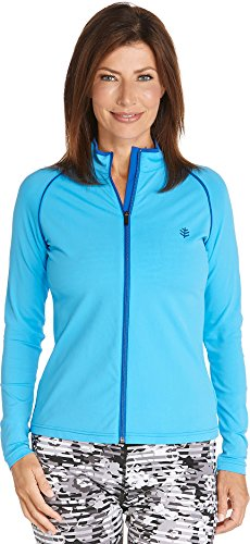 Coolibar UPF 50+ Women's Long Sleeve Water Jacket - Sun ()