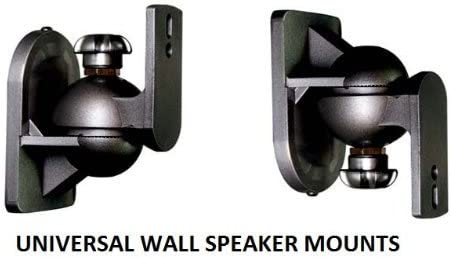 5 Surround sound speaker brackets Wall mount for Sony