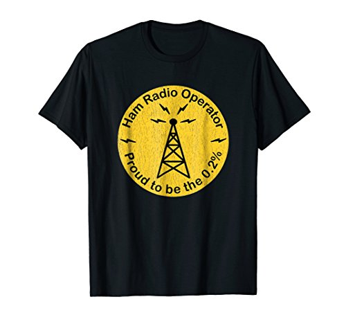 Licensed Ham Radio Operator .2% Novelty T-shirt