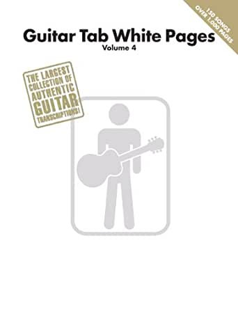 Guitar Tab White Pages - Volume 4 (English Edition) eBook: Hal ...