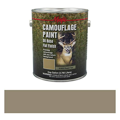 (Majic Paints 8-0855-1 Camouflage Paint, 1-Gallon, Desert Tan)