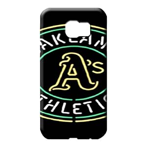samsung galaxy s6 Proof Snap-on Awesome Phone Cases phone carrying cases oakland athletics mlb baseball