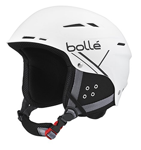 Bolle B-Fun Soft Helmet, White/Black, 58-61cm by Bolle