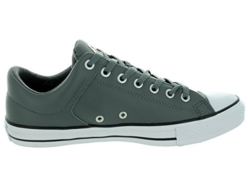 Converse Mens Chuck Taylor All Star High Street Low Sneaker THUNDER BLACK WHITE clearance wiki FwcrkewM5