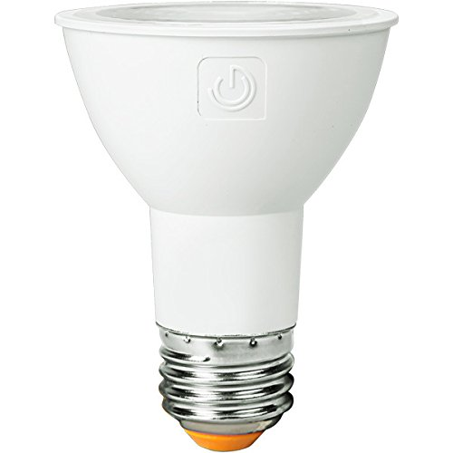 Green Creative 58107 PAR20 Flood LED Lightbulb, 3000K (Soft White), Dimmable, CRI 90, 8W, 550 lm, Energy Star, 15°