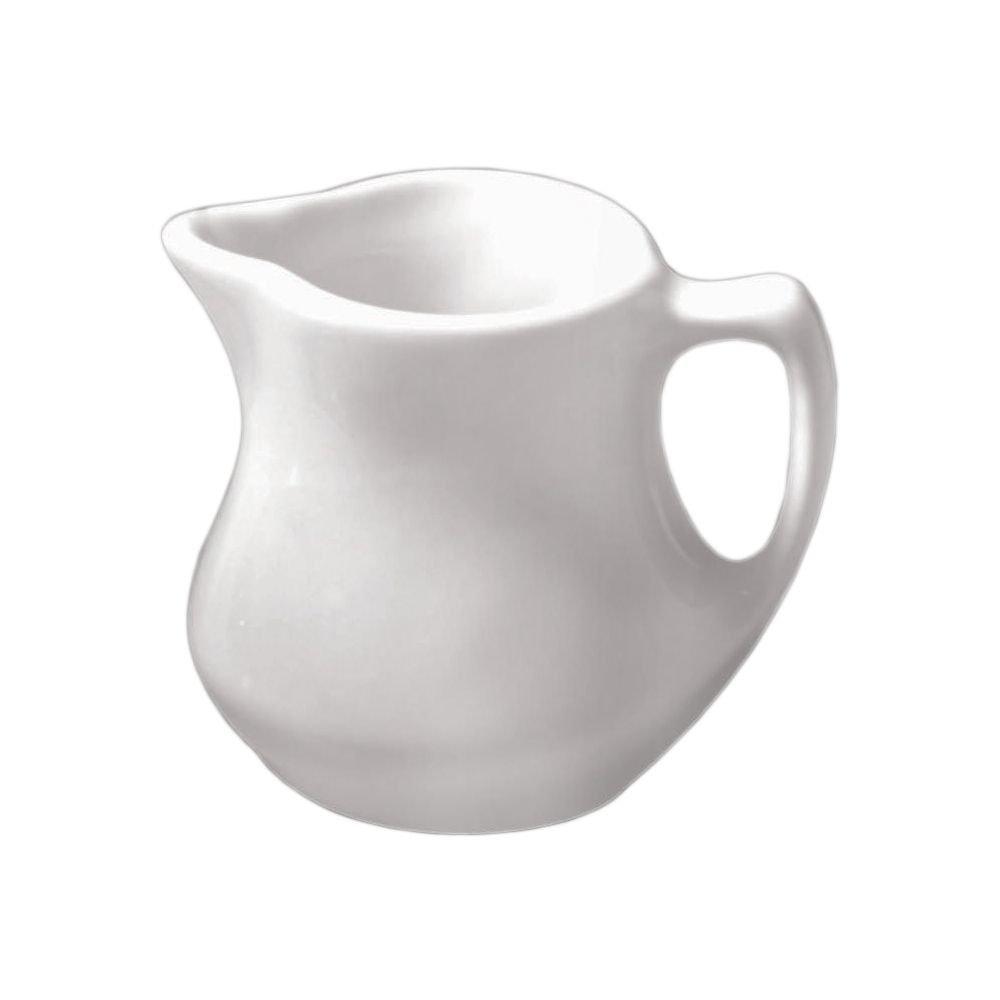 Diversified Ceramics DC15-W White 4 Oz. Ranch Creamer - 24 / CS