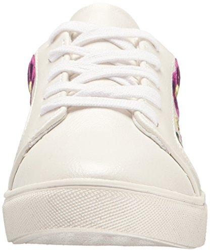 Betsey Johnson Womens Mayas Fashion Sneaker Bianco / Multi