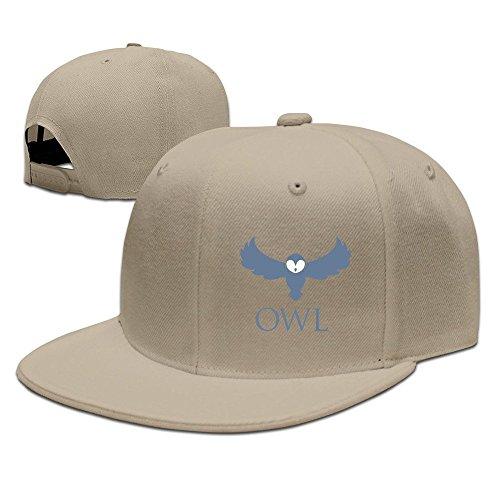MaNeg Owl Logo Unisex Fashion Cool Adjustable Snapback Baseball Cap Hat One Size