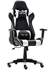 Storm Racer Ergonomic Gaming Chair for PC Video Game Computer Chair Racing Chair with Headrest and Backsupport