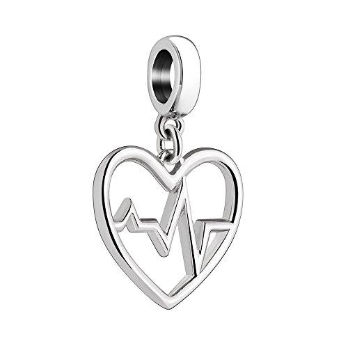 (Chamilia Give Back Heartbeat Bead Charm)