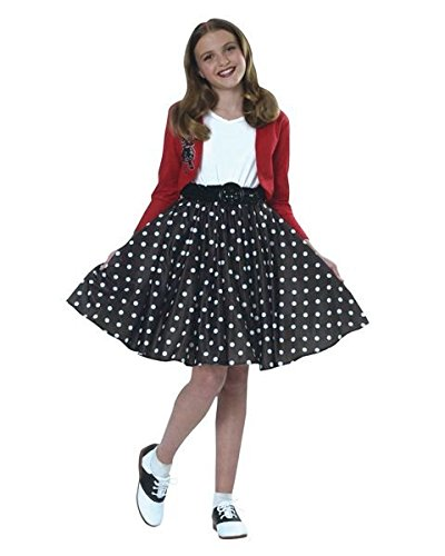 Halloween Costumes Beginning With N (Kids Polka Dot Rocker Costume)